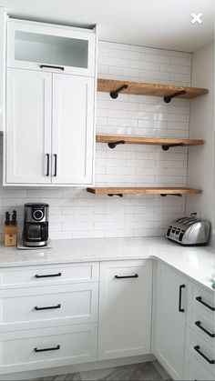 Shelves in kitchen rustic industrial wood pipe shelf industrial pipe shelving pipe shelves pipe shelving fl floating shelves kitchen ideas Kitchen Redo, Rustic Kitchen, New Kitchen, Kitchen Industrial, Kitchen Black, Kitchen Corner, Open Cabinet Kitchen, Kitchen Layout, Hidden Kitchen