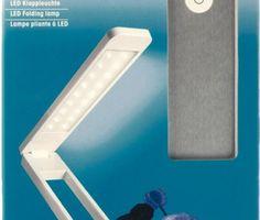 Candeeiro LED dobrável - Lámpara LED plegable Prym 610719 - 33,88 + IVA - loja PlanasYLinares