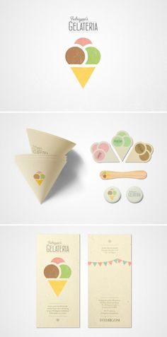 It is very cute and friendly. The tiny cones with ice cream are adorable!  The card is very clean and simple, but still inviting