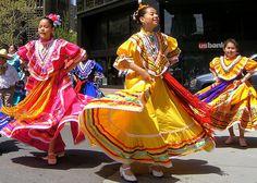 Mexican Cinco de Mayo dance