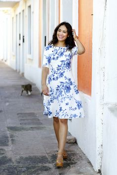 Share your Shabby!  Sofia Fit and Flare Dress-LIMITED EDITION