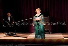 Oregon Shakespeare Festival. ANIMAL CRACKERS (2012): Eddie Lopez and K. T. Vogt. Photo: Jenny Graham.