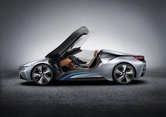 Awwwwsome : The BMW i8 Concept Spyder - can't wait for 2014!