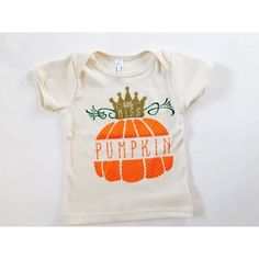 Little Miss Pumpkin infant tees. Sizes 3-6m to 18-24m