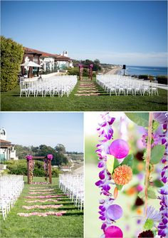 beach wedding ceremony ideas from VP Events :: beach wedding :: wedding reception :: wedding venue :: inspiration :: flowers :: colors :: bright :: Wedding Places, Wedding Locations, Destination Wedding, Goa Wedding, Wedding Stuff, Wedding Bells, Wedding Ceremony, Wedding Venues, Wedding Trends