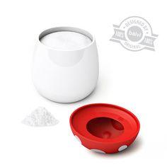 Saltcellar Fungo ceramic/silicone - Balvi