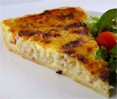 Zwiebelkuchen_Original - New Site Quiches, Onion Tart, Onion Pie, Good Food, Yummy Food, Bear Cakes, Pumpkin Dessert, Original Recipe, Pizza Recipes