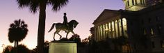 The Statehouse & Wade Hampton Monument, Columbia, South Carolina