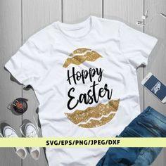 Hoppy Easter Svg Cut File Hoppy Easter, Mens Tops, Design, Women, Women's