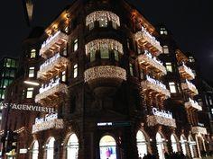 Xmas City Decoration Hamburg Germany