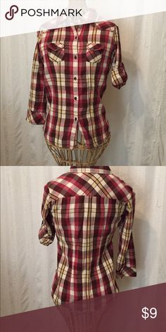 Flannel shirt Flannel shirt Tops Button Down Shirts