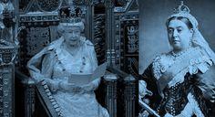 Elizabeth II completa hoje, o reinado mais longo da história britânica | Foto: Rainha Elizabeth II e Rainha Victoria
