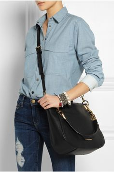 Michael Kors #sling-bag - I have this with a silver accent and I LOVE IT!