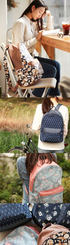 """If you want to go places, wear a simple & stylish backpack! The Dailylike Backpack can complete your fashion & carry all of your necessities. Put your planner, files, & laptop in the main compartment and store your phone, wallet, & earbuds in the zippered front pocket for quick access. This cute backpack can fit up to a 13"""" laptop & has padding in the back for optimal comfort! The exterior also has water-resistant coating for extra protection. Check out all 4 styles on our website and get…"""