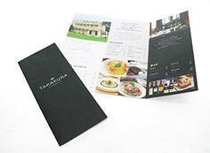 リーフレットデザイン実績|飲食店やネイルサロン、美容室のリーフレット作成ならショップツールデザイン