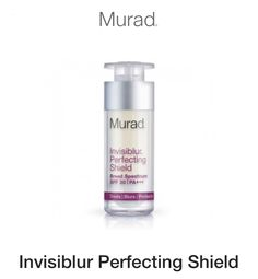 Anti aging, primer & SPF 30 & Mushroom peptides for collagen. Treat-blur & protect
