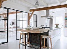 Dream kitchen, living room