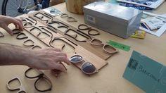 Econ l'orologio in legno, in legno anche le baricoole.