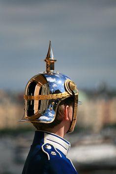 Högvakt - the Royal Castle Guard in Stockholm, Sweden