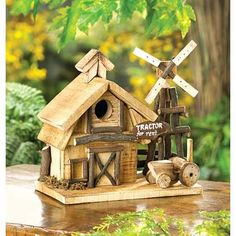 Barnyard Birdhouse   $14.95   Lexi's Kreationz, LLC   http://lexiskreationz.storenvy.com/products/884638-barnyard-birdhouse