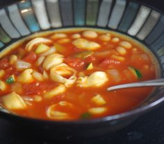 tortillini soup - this was delicious. i don't like onions or peppers. so i bought diced tomatoes with onion & peppers in it. it still added the flavor. highly suggest it!