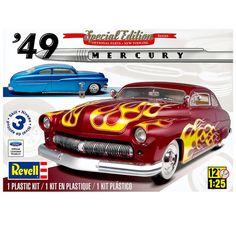 Revell 1949 Mercury Custom Coupe Model Kit