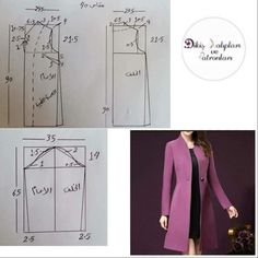 Likes, 77 comments - Stitch Patterns and Bosses ( .Sewing patterns coat patterns jacket patterns bolero pattern skirt patterns blazer pattern sewing tutorials sewing e book – ArtofitNo photo description available. Sewing Coat, Sewing Clothes, Diy Clothes, Coat Patterns, Dress Sewing Patterns, Clothing Patterns, Pattern Sewing, Skirt Patterns, Stitch Patterns