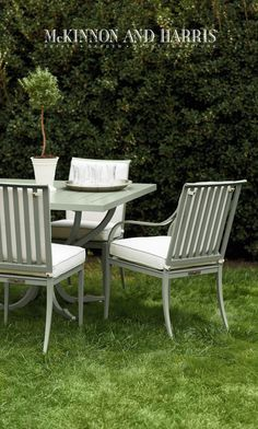 Buie Dining Chairs With Lipscomb Table In Locust Grove Lichen Finish
