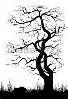 landscape-with-old-tree-and-grass-over-white-background-black-and-white-vector-illustration_216130348.jpg (312×450)