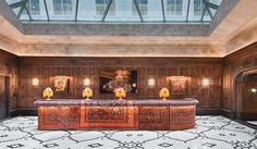"""Nothing beats the """"wow"""" of a yuge atrium. Justask a certain New York real-estate developer. However, that doesn't necessarily mean pink marble. The Templ..."""