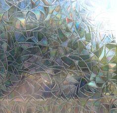Premium 3D Privacy Decorative Glass Window Film - Rainbow More