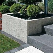 Columns granite gray and white. - Columns granite gray and white. Granite, Hydrangea Seeds, Traditional Landscape, Concrete Patio, Back Gardens, Balcony Garden, Front Yard Landscaping, Indoor Plants, Gardening