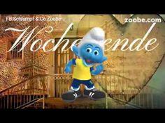 ❤Schönes Wochenende ❤ Schlumpf Videos Zoobe Schlümpfe Animation