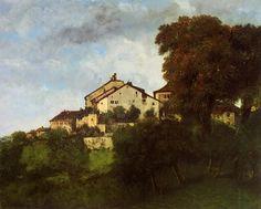 Gustave Courbet - Les chambres du château d'Ornans, 1853