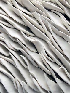 'Magnolia' ceramic wall tile - Heather Knight