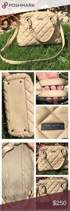 """✨SALE✨♠️Kate Spade New York """"Georgina"""" Satchel♠️ Hardly used satchel..in excellent conditions. Perfect size and very beautiful color. Description of the bag is in pic 4. Any questions feel free to ask. No dust bag, but it is always stuffed with paper to keep shape. No scratches or fading. Not spots or marks on the outside...inside may have very little, hardly noticeable mark (maybe makeup, but you can hardly see it). ♥️Reasonable Offers through Offer Button🌎 kate spade Bags Satchels"""