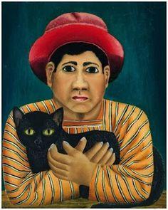 Le chat noir by Fernando Castillo. 1929