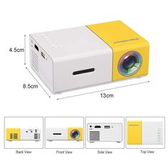 Tiny home theater Products - Lumi pro 2 0 ultra portable projector. Home Theater Furniture, Home Theater Setup, Best Home Theater, Home Theater Speakers, Home Theater Projectors, Home Theater Seating, Movie Theater, Theatre, Small Projector