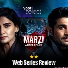 Will your 'Marzi' to watch Voot Select's latest show be worth it? Find out! Mystery Thriller, Web Series, The Selection, Watch, Image, Clock