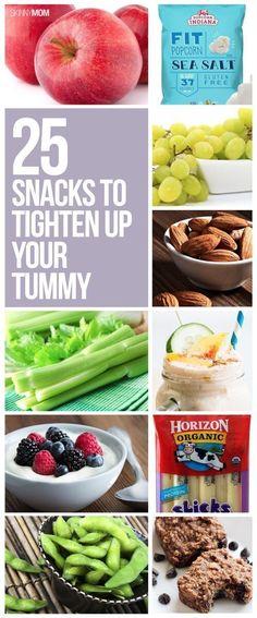 25 weight-loss snacks to grab in the new year! #newyou #diet #healthysnacks #healthyeats #weightloss #snacking #tummytighten