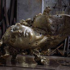 #javiermarinescultor, #javiermarin, #terrenobaldioarte, #escultura, #sculpture, #cabezachicoIIgrande en la #Fundición, #bronce, #bronze