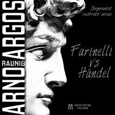 "Neue CD ""Farinelli vs Händel"" - Arno Argos Raunig - Sopranist, Countertenor, Male-Soprano, the Opera Singer Arno, Opera Singers, Album, Card Book"