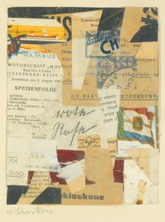 View artworks for sale by Schwitters, Kurt Kurt Schwitters German). Collages, Collage Artists, Kurt Schwitters, Photomontage, Dada Artists, Francis Picabia, Jackson, Mixed Media Collage, Dada Collage