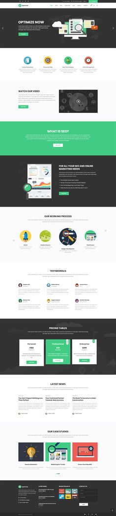 Optimize WordPress comes with a truly vast collection of layouts that can be easily customized to fit the needs of SEO and marketing companies and is fully compatible with the most amazing SEO plugins.   #wordpress #theme #webdesign #design #seo #marketing #digitalmarketing #marketingagency #startup #hosting #socialmedia #interactive #analytics #infographic