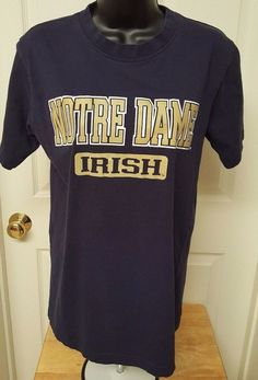 Pro Player Unisex Multi Color Notre Dame Irish T-Shirt Size S #ProPlayer #NotreDameFightingIrish