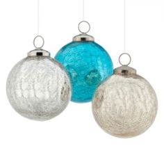 Crackle Ornament from Z Gallerie