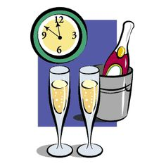 21 awesome new years eve clock clip art images