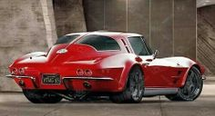 The Corvette Stingray is one of the most popular sports cars of all time. The Stingray goes all the way back to the and is still produced today. Chevrolet Corvette, Chevy, Muscle Cars Vintage, Custom Muscle Cars, Vintage Cars, Stingray Corvette, Buick, Carros Oldies, Supercars