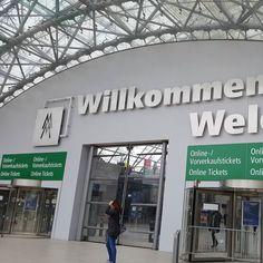 Adieu Leipzig. Es war schön mit dir. #lbm16