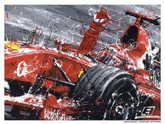 Ferrari Watch, Ferrari F1, Ayrton Senna Helmet, Speed Art, Michael Schumacher, Automotive Art, Grand Prix, Vintage Posters, Monster Trucks